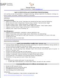 Sample Resume For Sap Sd Consultant by Sap Fico Resume Sample Sap Fico Sample Resume Resume Cv Cover