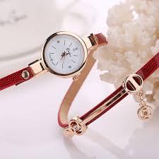 ladies bracelet wrist watches images Fashion women 39 s bling crystal finish strap analog quartz bracelet JPG
