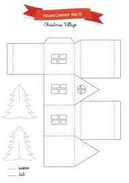 whole house christmas light kit day 3 tea light paper houses free template 25 creative days