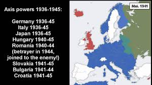 Map Of Europe During Ww2 by Axis Powers Of Ww2 The Maps Youtube