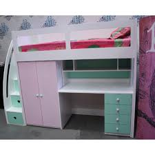 buy kids space saver loft bed frame 1800h online in australia