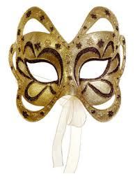 gold masquerade masks 6 75 gold and brown glittered floral masquerade mask christmas