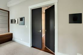 contemporary double door exterior modern interior doors wood veneer solid core custom glenview