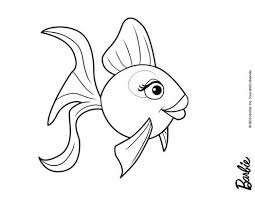 barbie mermaid tale coloring pages beautiful colored fish 210792