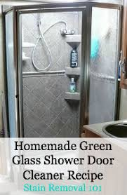 how to clean shower glass doors with vinegar homemade shower cleaner recipes for daily use u0026 heavy duty