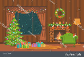 Luxury Home Interior Design - fireplace awesome cartoon christmas fireplace home decoration