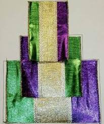 mardi gras ribbon mardi gras ribbon golden openings