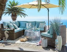 Pier One Patio Umbrellas Breezy Blue Outdoor Beach Decor U0026 Furniture From Pier 1 Http
