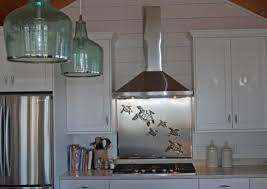 Custom Artwork Sculptures And Furniture Gallery - Custom stainless steel backsplash