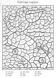 coloriage à imprimer chiffres et formes coloriages magiques