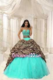 mint quinceanera dresses mint colored quince dresses with leopard waist and ups
