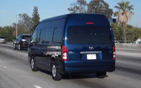 Passport Please Spotted In The Us Toyota Hiace Photo U0026 Image