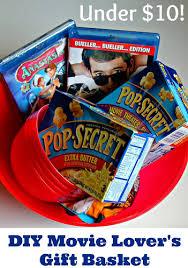 Movie Themed Gift Basket Diy Movie Lovers Gift Basket For Under 10 Make Perfect Popcorn