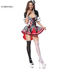 ladies clown halloween costumes online get cheap harlequin costume aliexpress com alibaba group