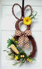 Etsy Easter Door Decorations by 71 Best Door Wreaths Images On Pinterest Spring Wreaths Easter