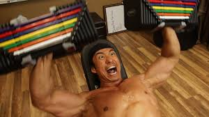 Dumbbell Exercises Chest No Bench - home chest u0026 back workout powerblock dumbbells u0026 bench