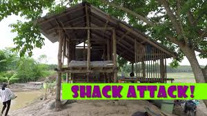 Shack by Shack Attack Dismantling The Old Shack Youtube