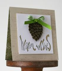 Guse Christmas Trees by Notable Nest 3d Paper Pine Cone Card