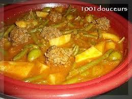 cuisiner des haricots verts frais tajine de keftas haricots verts pommes de terre aux olives l