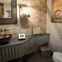 Industrial Style Bathroom Vanity by Best 25 Industrial Wall Mirrors Ideas On Pinterest Industrial