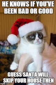 Good Meme Grumpy Cat - grumpy cat christmas meme imgflip