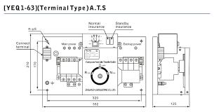 4 pole ats wiring diagram wiring diagrams
