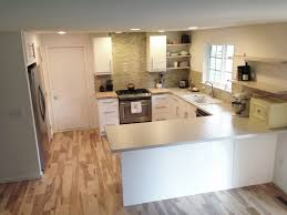 Orange Floor L Modern Kitchen L Shaped Kitchen Ideas Orange Bar Pendant Light