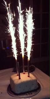 sparkler candles for cakes quilted black and white birthday cake with sparkler firework