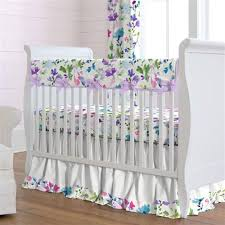 Purple Nursery Bedding Sets Baby Bedding Baby Crib Bedding Sets Carousel Designs