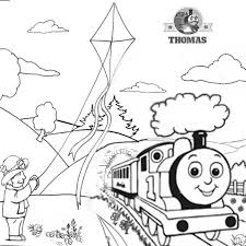 charming pictures thomas friends colouring pages 2