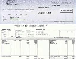 Check Stub Template For Excel Paycheck Stub Template Eknom Jo