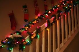 Banister Decorations For Christmas Great Ideas For Indoor Holiday Decorating With Lights Light Up