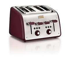 T Fal Digital 4 Slice Toaster Tefal Toasters With Defrost Ebay