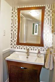 The Powder Room Cambridge Simple Design Likable Stone Corner Fireplace With Tv Above