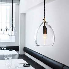 large glass pendant lights for kitchen hand blown glass pendant light assorted sizes lighting collective