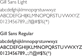 gill sans light font typography mblc brand guide resource guides at massachusetts