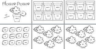 free worksheets for teaching contractions 1st grade closets of
