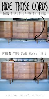 Hack Design This Home Hiding Electrical Cords Standing Desk Hack Industrial Rolling Cart