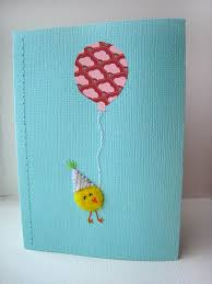 Creative Ideas To Make Greeting Cards - homemade handmade greeting card making ideas with balloons