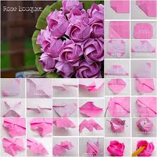 9 best images of origami flowers rose easy steps how to make