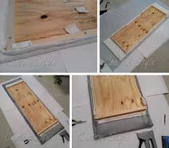 build your own ironing table custom style