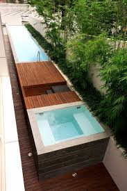 outdoor lap pool modern lap pool landscape contemporary with climbing plants modern