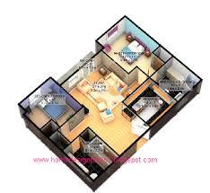 home design drawing modern 3d home floor plan design suite home ideas 700x484 86kb