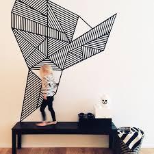 Design Wall Art Best 25 Tape Wall Art Ideas Only On Pinterest Masking Tape Wall