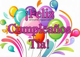 imagenes que digan feliz cumpleaños tia ana image result for feliz cumpleaños tia felicitaciones pinterest