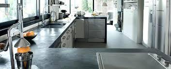cuisine beton cire enduit pour plan de travail cuisine