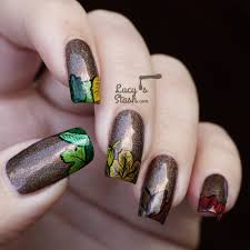 last autumn nail art of the year lucy u0027s stash