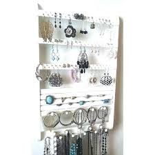 jewelry holder necklace images Jewelry rack jewelry holder wall mount wood earring holder jpg