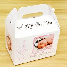 personalized favor boxes baptism christening personalized favor boxes gift boxes