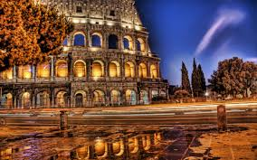roman coliseum hdr wallpapers and images wallpapers pictures